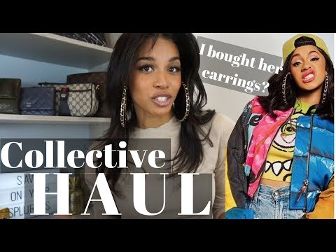January/ Pre Spring HAUL  |  Affordable + Luxury Haul + Cardi B's Earrings!   |  KWSHOPS