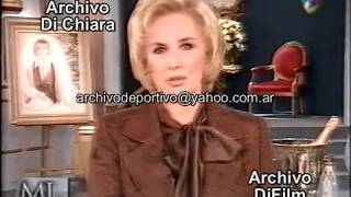 Mirtha Legrand habla del suicidio de Rene Favaloro 2000 DiFilm V-02476