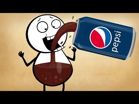 Pepsi Man ~ Pencil Cartoons #94 [4K]