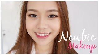 Beginner Makeup Tutorial ( Drugstore )   Eng Sub   Molita Lin