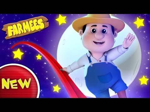 Aiken Drum | There Was A Man Who Lived In The Moon | Nursery Rhymes | Kids Songs by Farmees S02E174