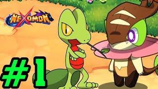 LỰA CHỌN THÚ HỆ LÁ VÀ ĐI THU PHỤC - Nexomon Game Giống Pokemon Phiên Bản Mobile #1