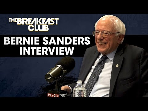 Bernie Sanders Talks Reparations, Prison Reform And His Black Agenda