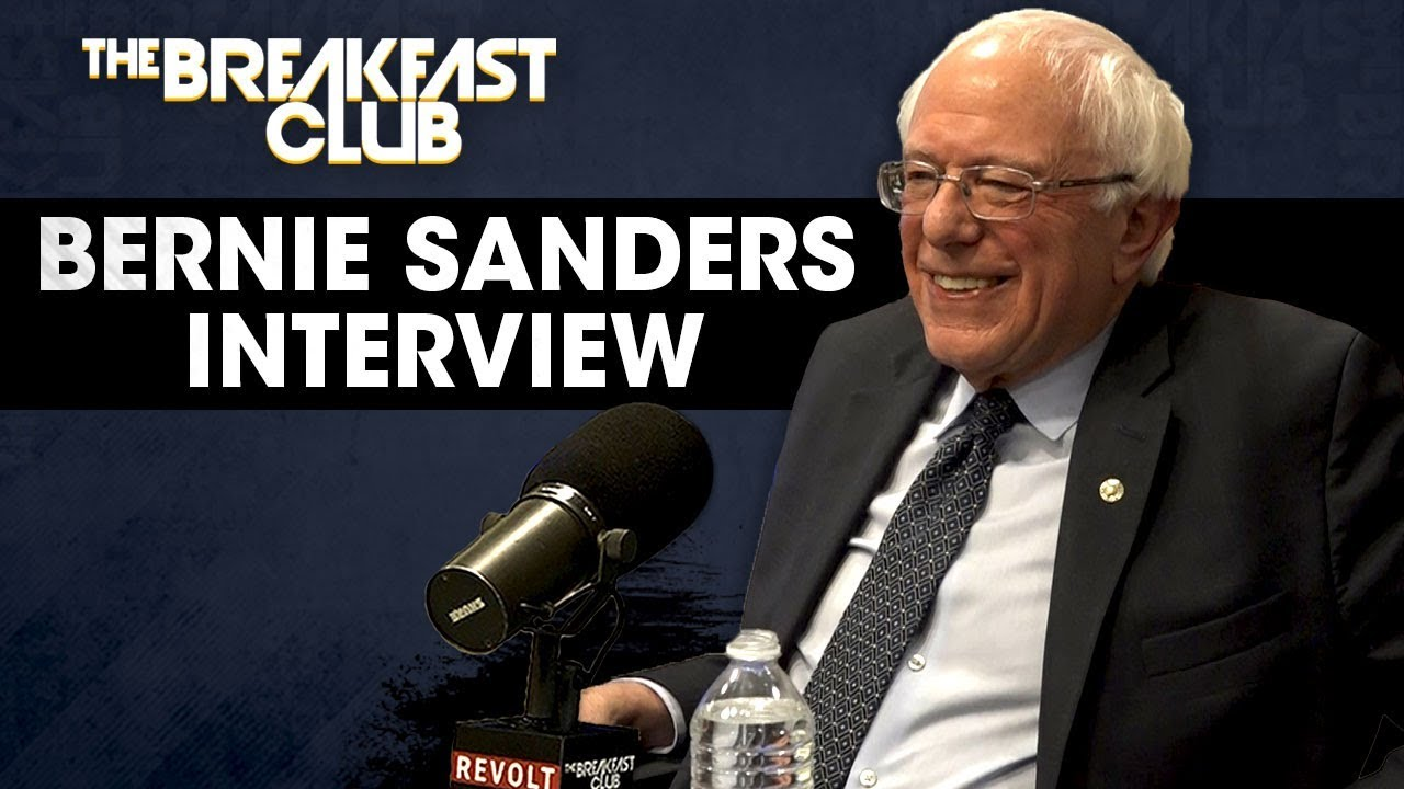 Clown Bernie Sanders Talks Reparations, Prison Reform And His Black Agenda