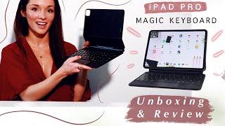 iPad Pro Magic Keyboard Review & Unboxing May 2020