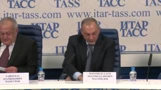 Пресс-конференция глав субъектов СКФО в ИТАР-ТАСС