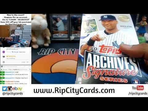 2017 Archives Signature Series Baseball Post Season Edition 1 Box Personal #3 RCC 01022018