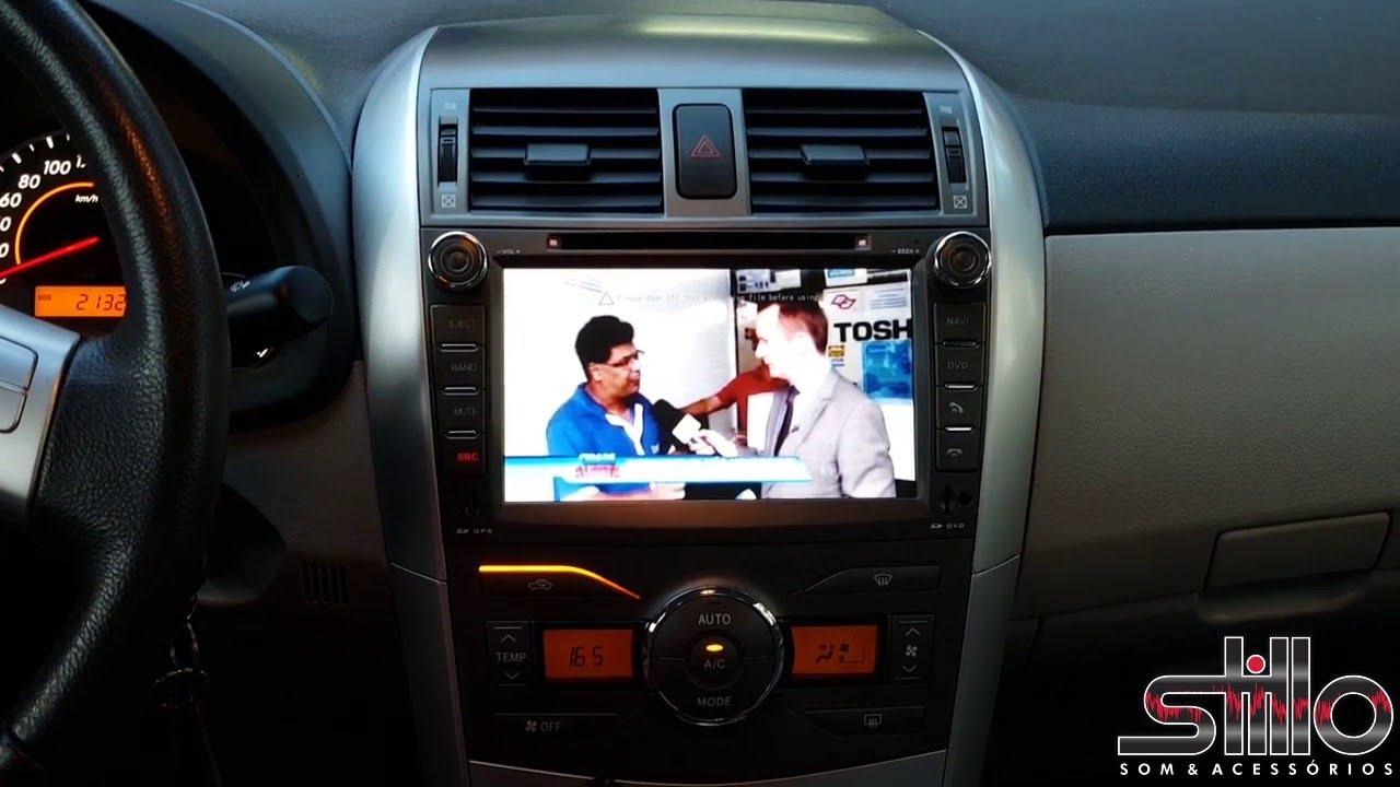 Central Multimidia Winca S60 Toyota Corolla Youtube