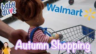 Baby Alive Autumn Goes to Walmart!   Kelli Maple