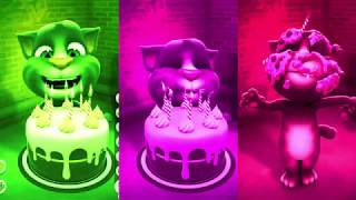 Learn Colors with My Talking Tom Colours for Kids Animation Education Cartoon Compilation P4