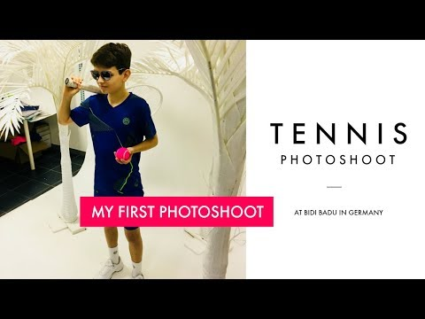 Behind the scenes tennis photoshoot | Bidi Badu 2018  - Germany