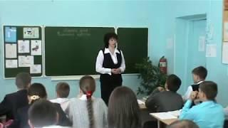 Урок русского языка в 9 классе - Елена Николаевна Малянова (05.05.2014)