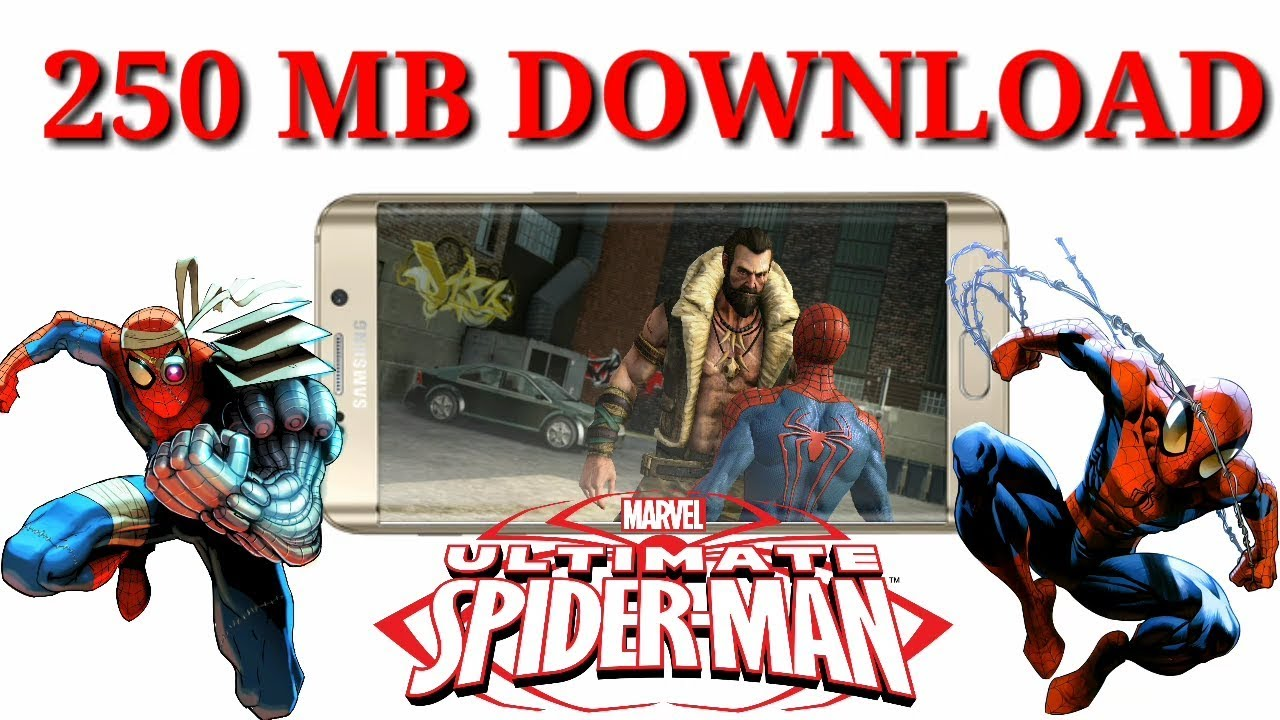 ( 250 MB ) How To Download Ultimate Spider Man || Any Android Phone ||  PPSSPP