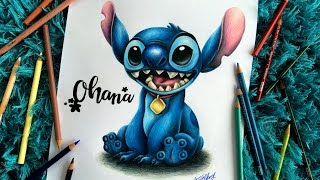 SPEED DRAWING: How to draw Stitch