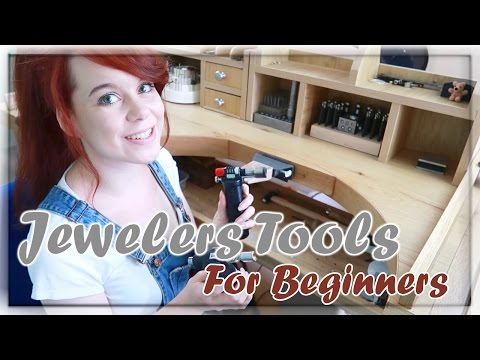 Fine Jewelry Tools & Workbench - For Beginners! | How-To | HD