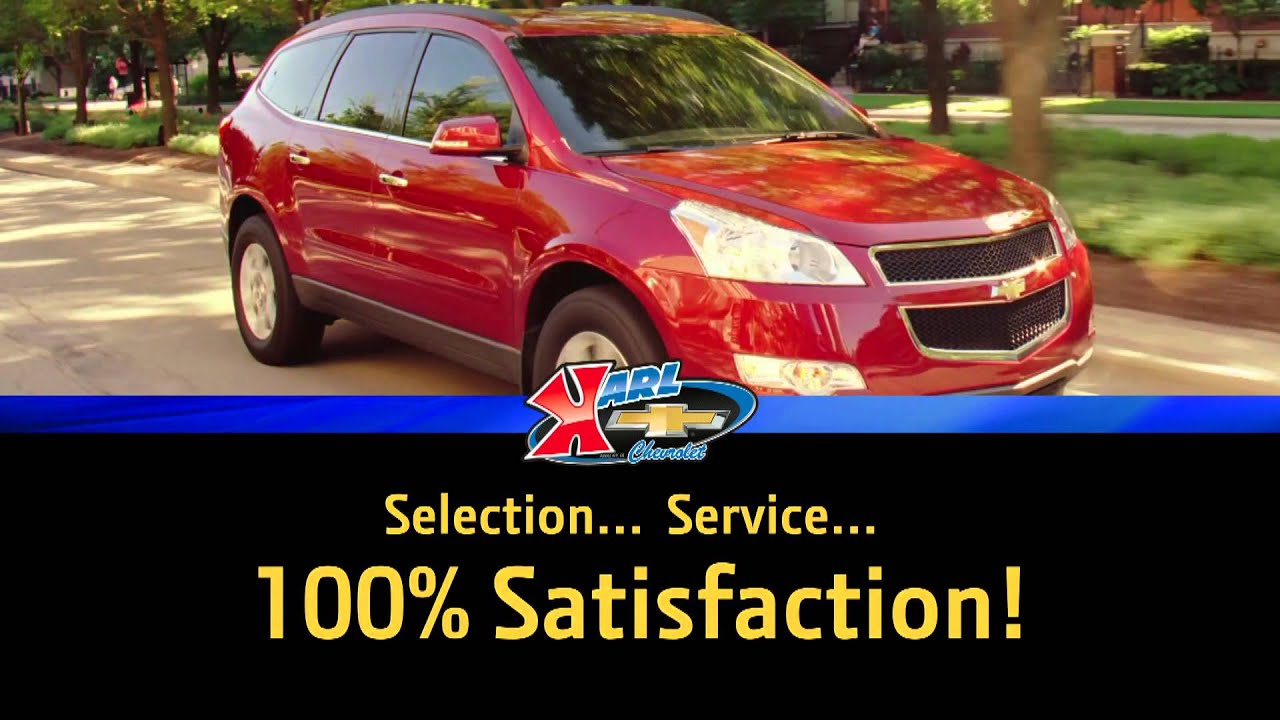 Selection...Service...100% Satisfaction - Karl Chevrolet Certified