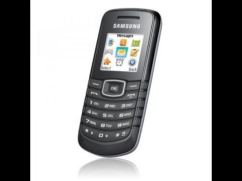 Samsung E1086 Basic Bell - Sound Effect ▌Improved With Audacity ▌