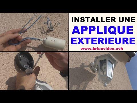 installer-applique-mur-exterieure