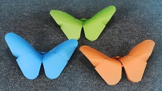 Easy Paper Butterfly - Easy Butterfly DIY - Tutorial for Beginners