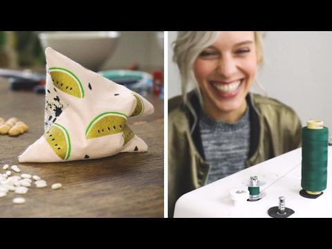 Nähen für Dummies feat DIY Eule: #1 Handwärmer | DIY | Jelena
