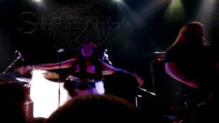 Sirenia - Absent Without Leave Live In Athens,Greece @ Gagarin 205 04/11/10