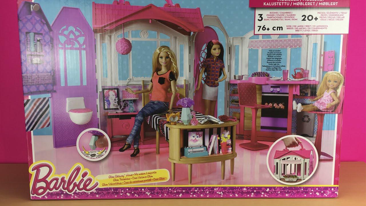 Barbie casa de vacaciones port til mattel chf54 youtube - Arreglar la casa de barbie ...