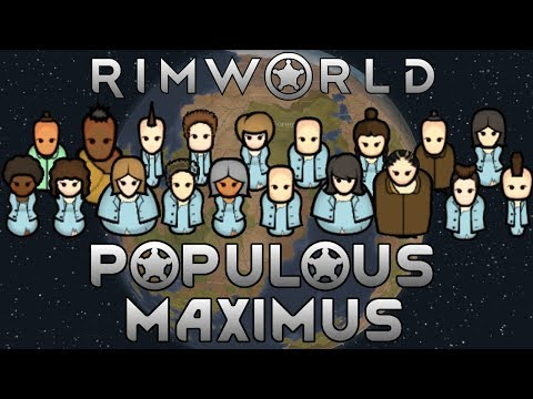 [54] Power Expansion & Finishing Up Other Projects | RimWorld Populous Maximus
