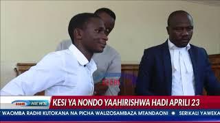 'Utata wa kisheria' waipeleka kesi ya Abdul Nondo Aprili 23