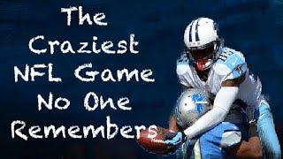 The Craziest NFL Game No One Remembers. 2012 Tennessee Titans vs Detroit Lions