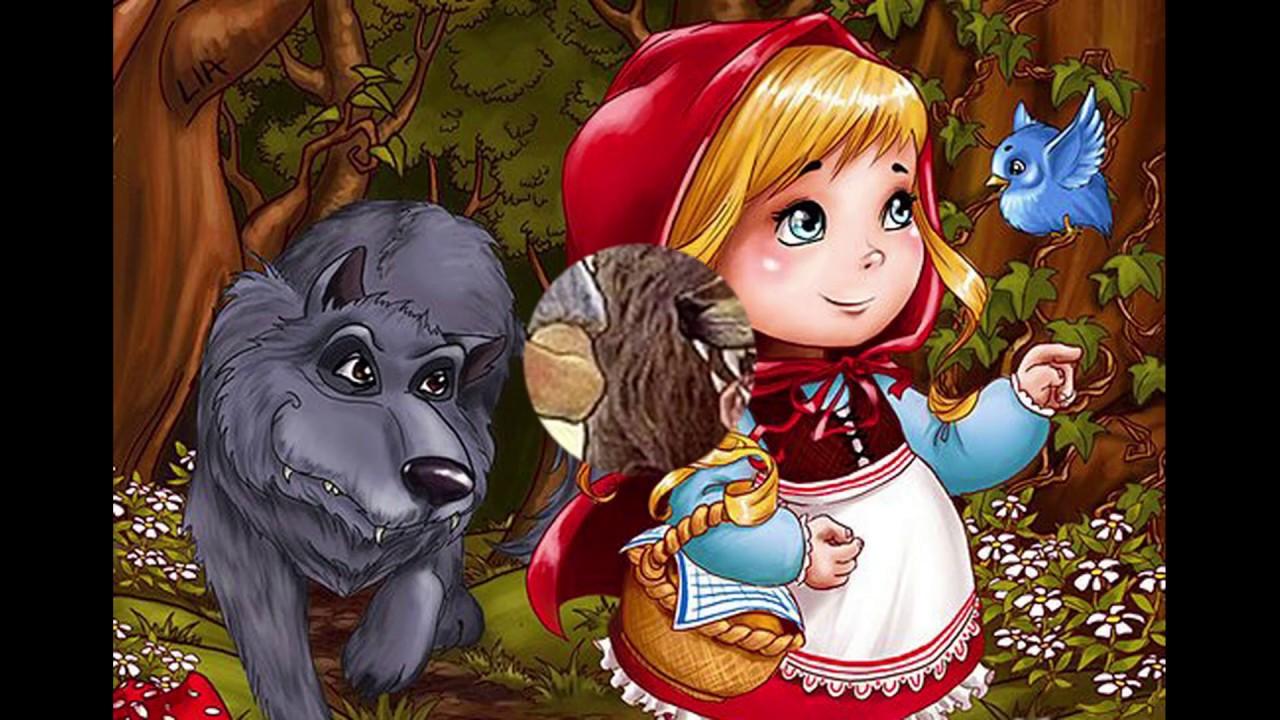 Красная Шапочка и Серый Волк | Сказки для детей - YouTube