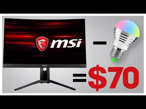 Repeat MSI Optix MAG241C Monitor Review by The Techne - You2Repeat