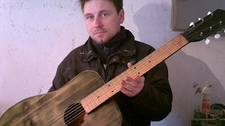 реставрация акустической гитары