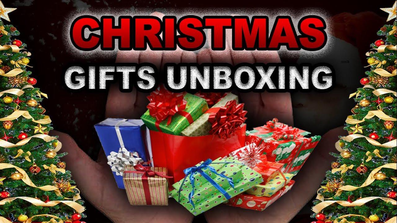CHRISTMAS GIFTS ! Christmas Mystery Box