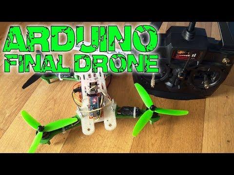 Arduino drone - Part3 Drone built