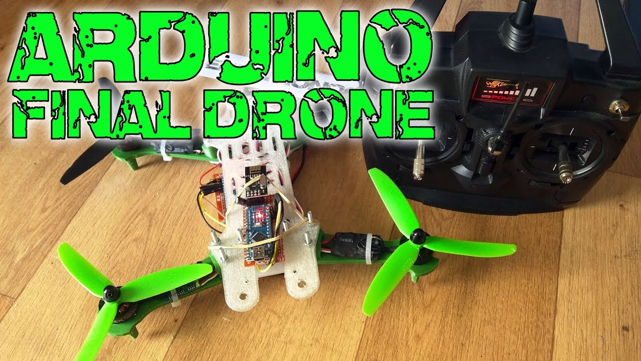 Arduino drone part built youtube