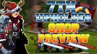 aqw 7th upholder badge shop preview