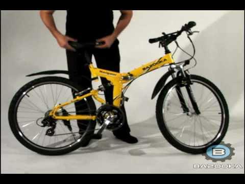 Bazooka Navigator Model Folding Mtb Bike Bicycle Youtube