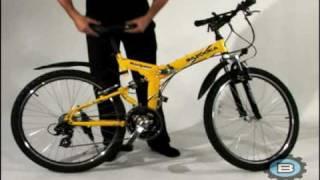 Bazooka, Navigator model folding mtb bike bicycle.