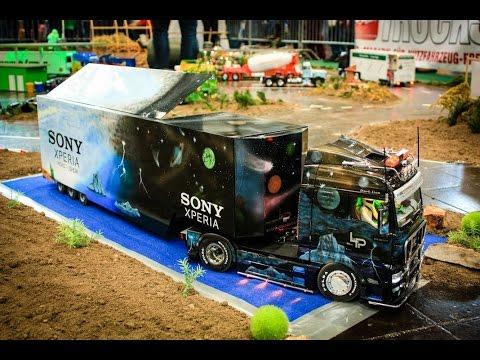 Trucks Traktoren und Baustelle zur 20.modell hobby spiel Leipzig 2015