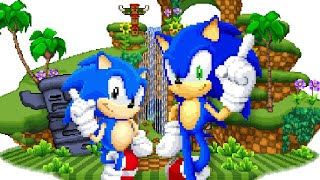 Sonic Fan Games ✪ Sonic Generations 2D