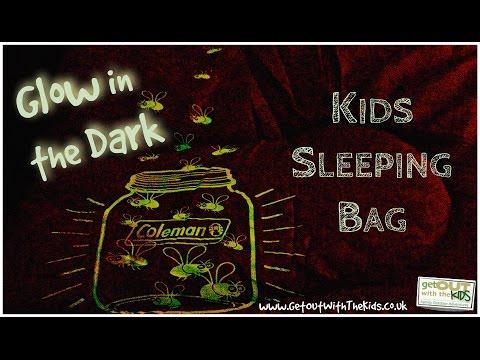 Coleman Youth Glow in Dark Sleeping Bag
