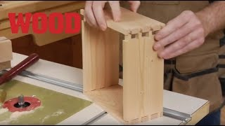 Make a Dovetail Box in 12 Minutes -- WOOD magazine