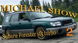 Subaru forester sf5. После замены турбины. Часть.- 2