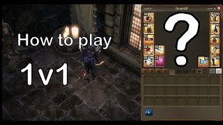 Drakensang online - How to set your mage to 1v1 [CZ]