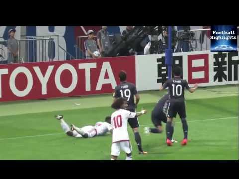 Japan 1   2 United Arab Emirates  highlights World Cup 01/09/2016