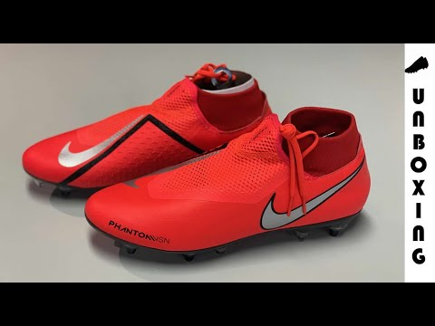 Nike Phantom VSN Academy DF SGPRO Bright Crimson / Metallic Silver / Black