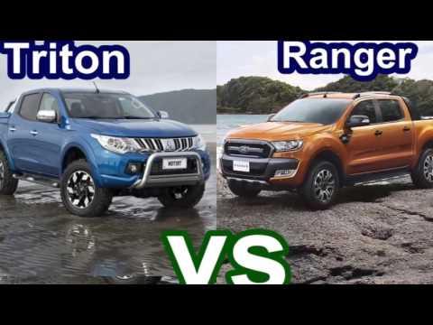 Новый Mitsubishi l200 2015 года против Нового 2016 Ford Ranger