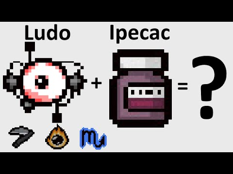 The Binding Of Isaac: Rebirth - LUDOVICO TECHNIQUE + IPECAC - SICK COMBOS Ep. 6 part 1