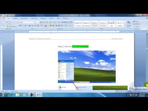 MS Office Word 2007 Bangla Tutorial 1