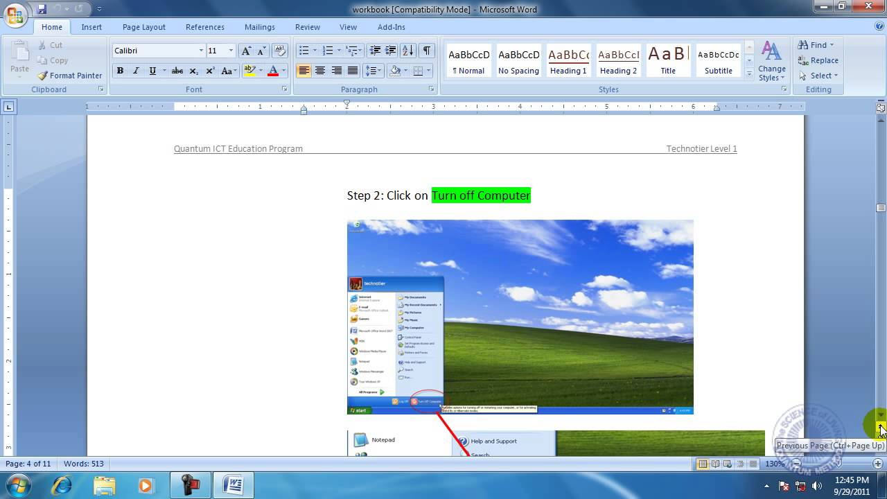 Ms Office Powerpoint 2007 Bangla Tutorial Pdf